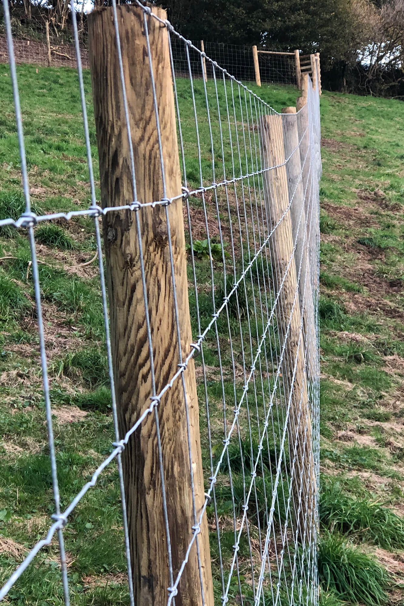 Good quality fencing materials sourced locally